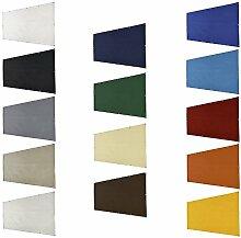 Balkon Sichtschutz | Maßangefertigte Balkonumrandung aus wetterbeständiger LKW-Plane | BLICK – und WINDDICHT | KEIN Bohren | Leicht und bequem zu montieren & zu reinigen| 14 Farben zur Auswahl | Farbe Hellgrau | Maße in cm: 90x680