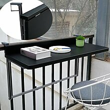 Balkonhängetisch Klappbar,Outdoor-Tisch