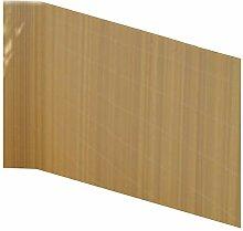 Balkonsichtschutz Bambus Optik 90x300 Kunststoff