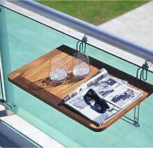 Balkontisch Helena 40x60cm aus Akazienholz