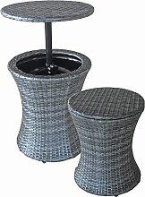 Balkontisch Stehtisch Gartentisch rund Tisch