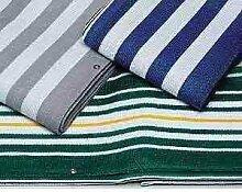Balkonverkleidung, Balkonumspannung, grau/weiß,