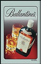 Ballantine's Spiegel Two Glasses and A Bottle