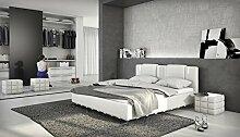 Ballaro Designerbett mit LED / 180x200cm Bett /