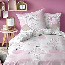 BALLERINA Mädchen-Bettwäsche ·