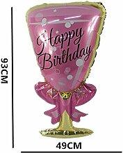 Ballon-Geburtstags-Bollons | 1 St. Große Hochzeit