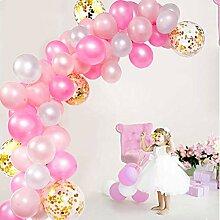 Ballon-Girlande Kit 114 Stück Luftballons Bogen