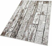 Balta Rugs in- und Outdoor-Teppich Beige Wooden