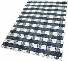 Balta Rugs in- und Outdoor-Teppich Checkered Blue