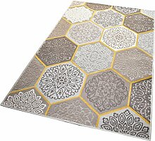 Balta Rugs in- und Outdoor-Teppich Classic Hexagon