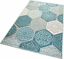 Balta Rugs In- und Outdoor-Teppich Classic Hexagon