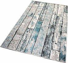Balta Rugs In- und Outdoor-Teppich Green Wooden
