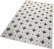 Balta Rugs in- und Outdoor-Teppich Gridstone Grey