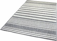 Balta Rugs in- und Outdoor-Teppich Sawstripes Grey