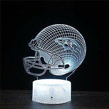 Baltimore Ravens 3D-Illusionslampe, optische