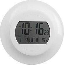 Balvi Dot Digitale Wanduhr mit Kalender und Thermometer.