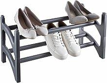 Bama Schuhschrank Set 2Pz shoesup, Kunststoff, grau