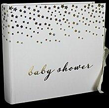 Bambino Baby Dusche Foto Album–mit Silber &