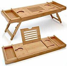 Bamboo Bad Caddie, Standfuß Design, Tischchen,