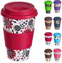 Bamboo Cup Wiederverwendbare Kaffeebecher aus