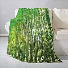 Bamboo Trees Decotaions Collection Decke aus 100%