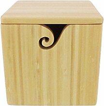 bamboomn Marke-Bambus Garn Schüssel mit
