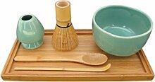 bamboomn Marke–Matcha Schale Schüssel-Set