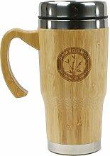 Bamboomug ED5018 Kaffee- oder Teebecher mit Griff,