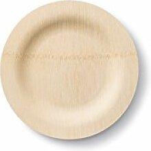 Bambu, Veneerware Runde Bambus-Teller, 17,8 cm, 25