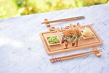 Bambum B0164 Focci Sushi-Set, 9-teilig, Braun