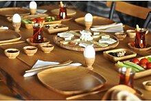 bambum b2449ikon-57PCS Frühstück-Set, braun