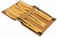 Bambum Buttermesser 6er Set Forre B2570 beige