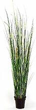 Bambus 120 cm große Kunstpflanze hochwertig Deko-Pflanze wie echt 1 Pflanze
