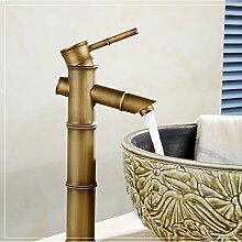 Bambus antike Badezimmer Armatur mit klassischen