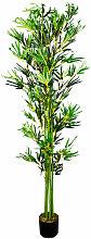 Bambus Bambus-Strauch Kunstbaum Kunstpflanze