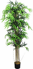 Bambus Bambus-Strauch Kunstpflanze Kunstbaum