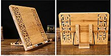 Bambus Buchständer Küche Rezepte Kochbuchhalter