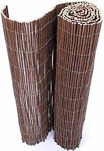 bambus-discount.com Balkon Sichtschutz Weide Matte