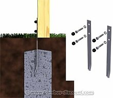 bambus-discount.com Bodenanker Safety, 2er Set