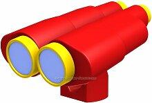 bambus-discount.com Doppelfernrohr rot-gelb aus
