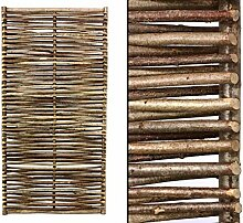 bambus-discount.com Haselnuss Zaun mit 115 x 180cm