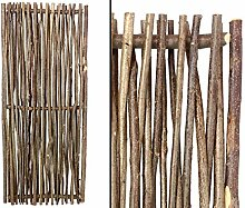 bambus-discount.com Haselnusszäune Modell Laura