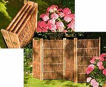 bambus-discount.com Paravent aus Weiden Zweige,