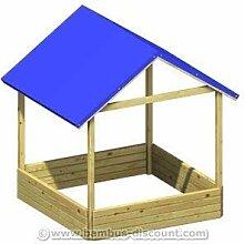 bambus-discount.com Sandkasten Moritz mit blauem