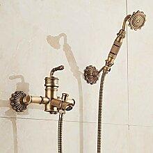 Bambus Dusche Wasserhahn Mischbatterie Antik
