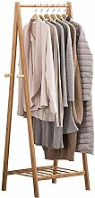 Bambus Garderobe Garderobe Kleiderbügel tragbaren