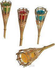Bambus-Gartenfackel