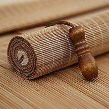Bambus-Jalousien,Bambus-Rollo,Rollo aus