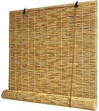 Bambus Jalousien Schilf Vorhang Rollo Bambus