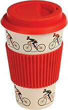 Bambus Kaffeebecher Coffee to go Le Bicycle